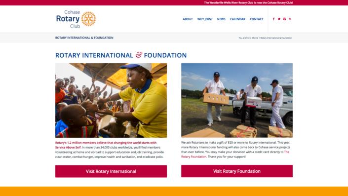 Cohase Rotary - Rotary International